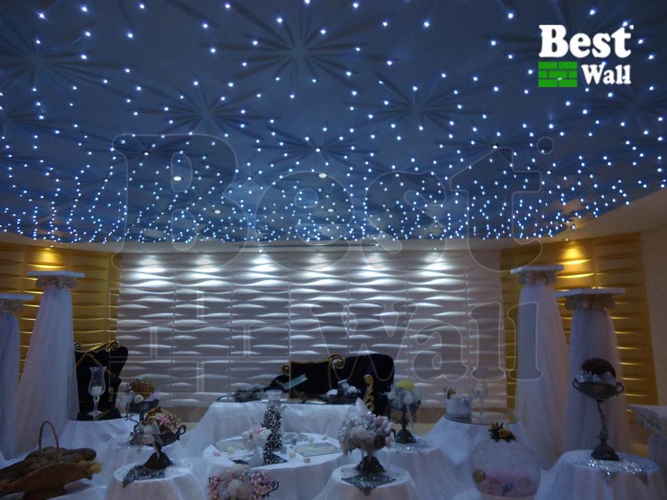 سقف دکوراتیو با نورپردازی