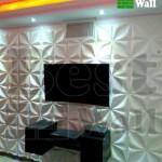 دیوار پشت تلویزیون ال ای دی
