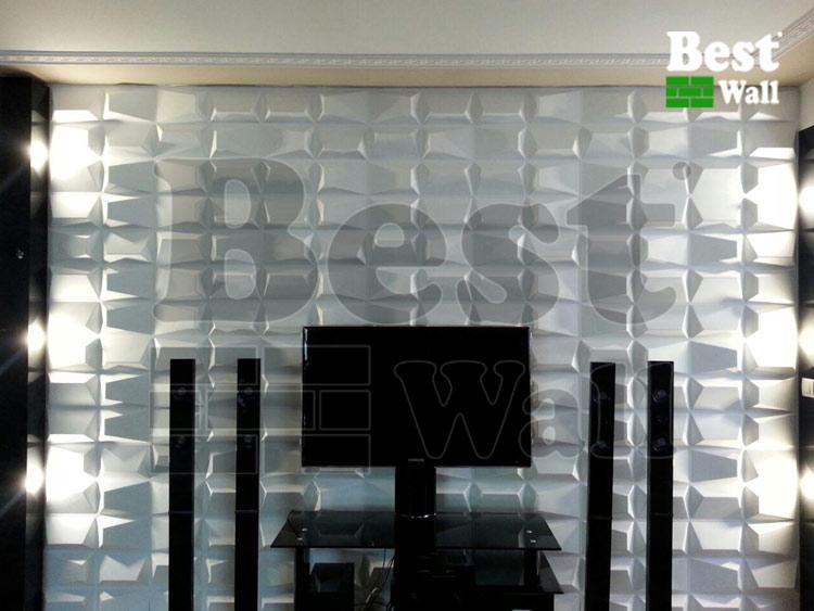جدیدترین طرح پشت تلویزیون با دیوارپوش سه بعدی