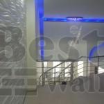 طراحی لابی ساختمان با طرح موجی