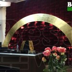 تزیین اتاق مدیریت با دیوارپوش سه بعدی مخمل