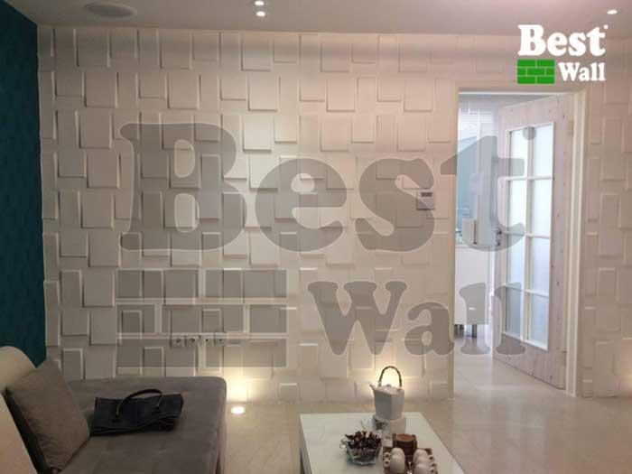 طراحی دکور دیوار مطب