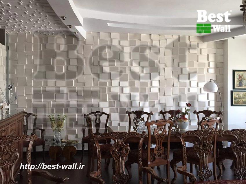 دکور دیوار سالن پذیرایی منزل