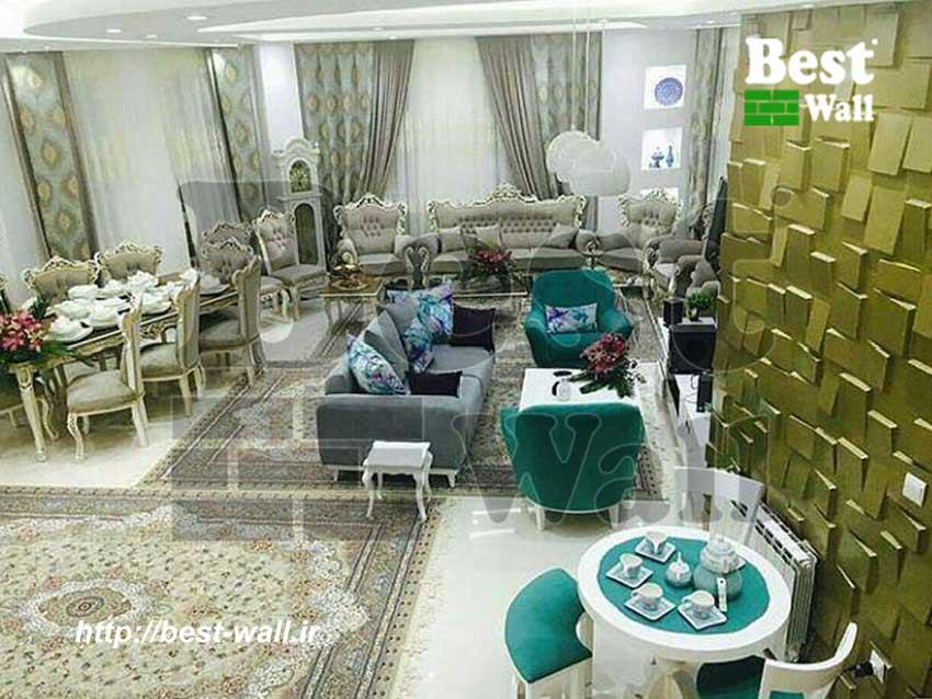 پروژه مسکونی کرمان طرح صخره