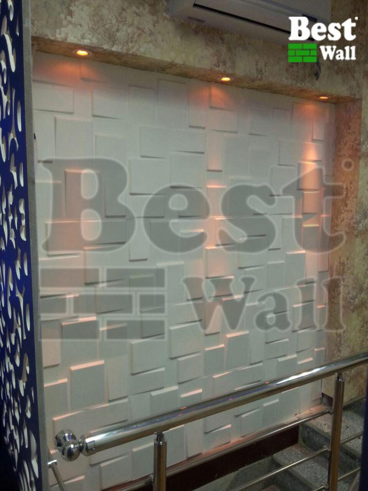 دکور دیوار های راه پله سالن آرایش