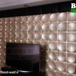 متریال جدید و زیبا طراحی دیوار تلویزیون