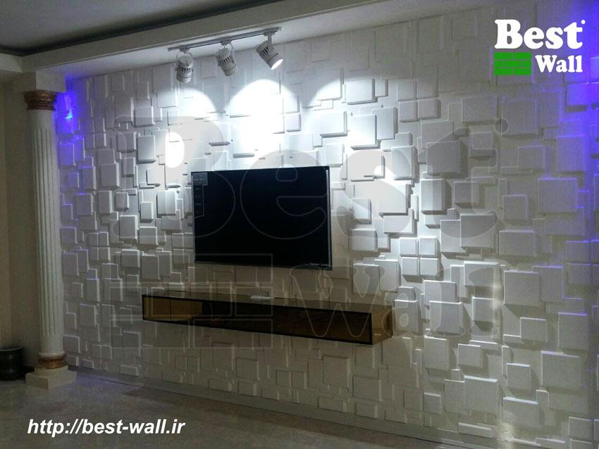 دیوار تلویزیون کرج طرح مدرن