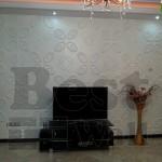 عکس دیوار تی وی طرح پروانه