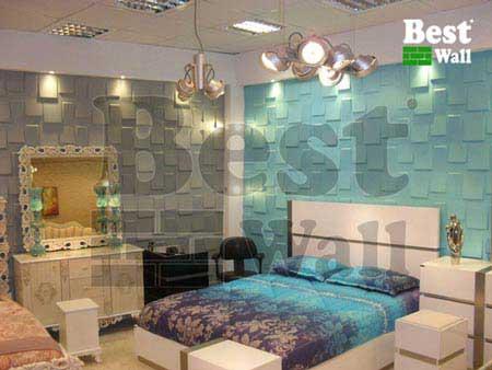 دیوارپوش سه بعدی بسیار جدید برای دکوراسیون اتاق خواب
