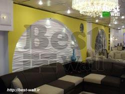طراحی دکور دیوارهای گالری مبل