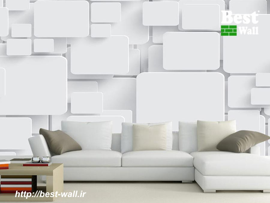 کاغذ دیواری دکوراتیو سه بعدی جدید