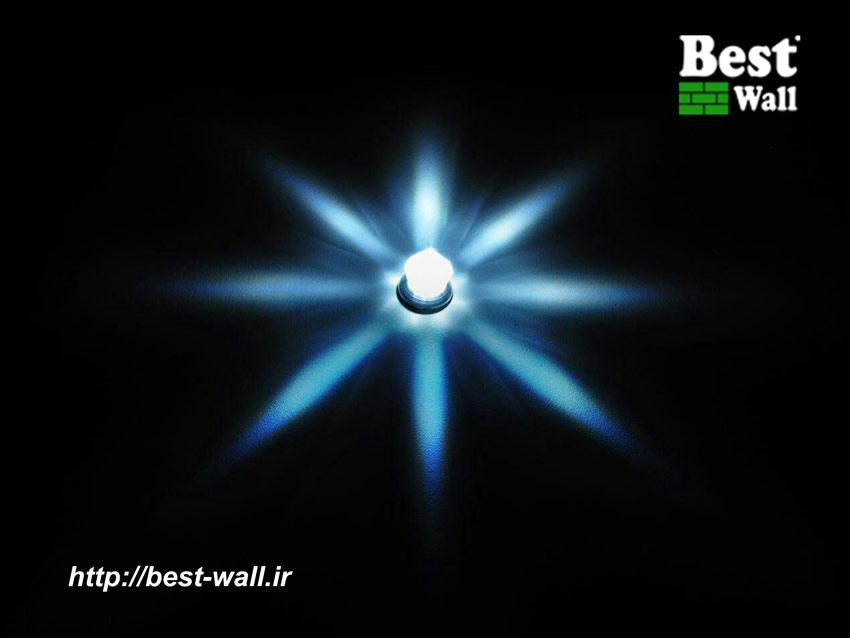 کریستال نور پردازی 8 وجهی