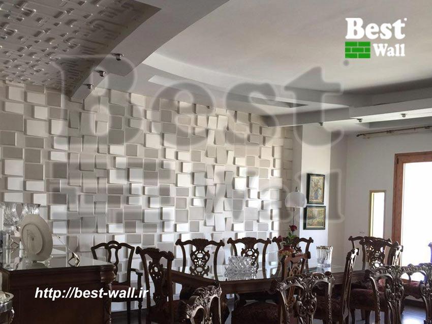 زیباترین دکوراسیون دیوار سالن پذیرایی