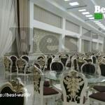طراحی داخلی تالار پذیرایی و عروسی