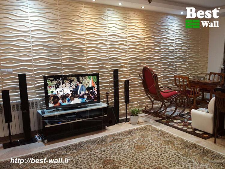 دکوراسیون داخلی منزل با دیوارپوش سه بعدی