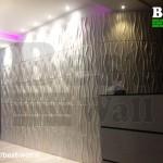 طراحی دیوار لابی و مشاعات
