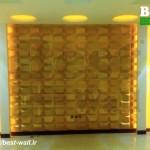 دیزاین اتاق نشیمن با تری دی پنل دکوراتیو
