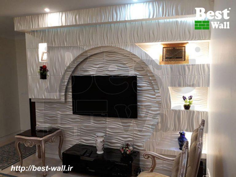 دیوار تلویزیون تهرانسر