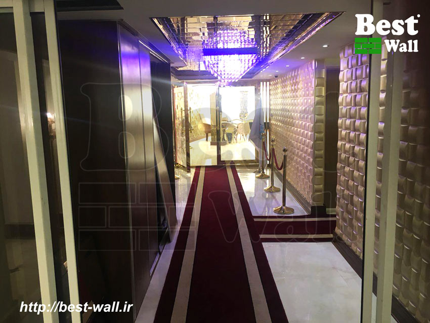 طراحی و دکوراسیون ورودی هتل