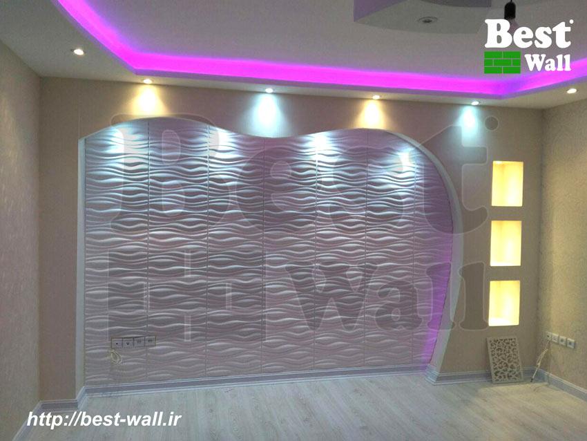 دیوار پشت تلویزیون LED
