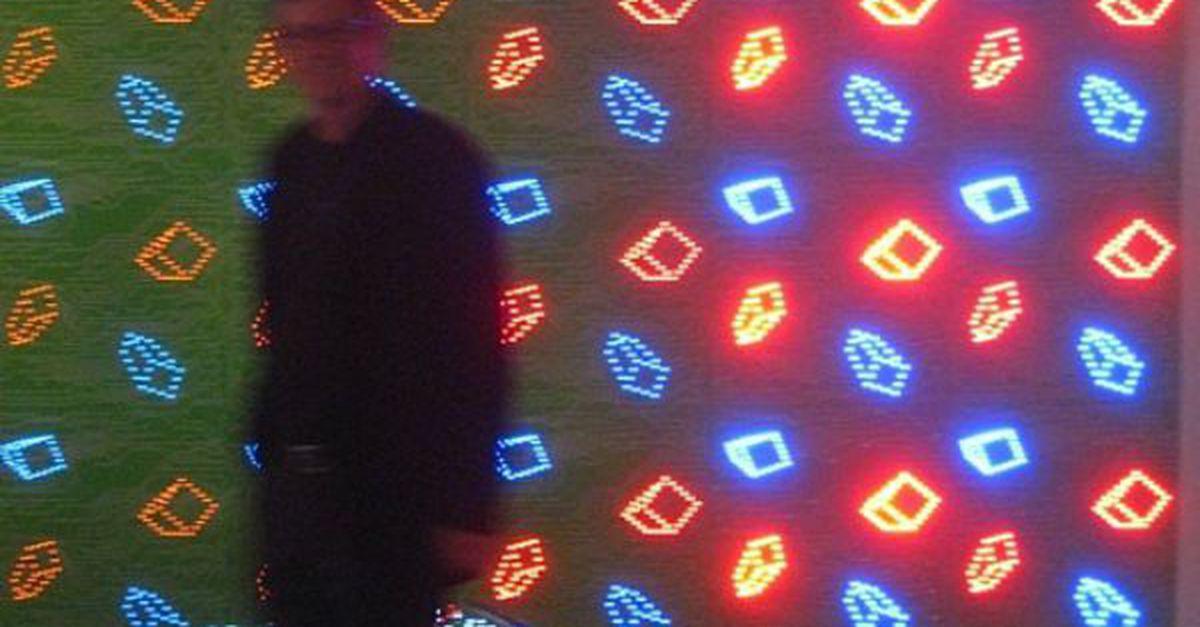 کاغذ دیواری LED دار