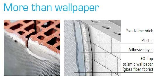 کاغذ دیواری ضد زلزله