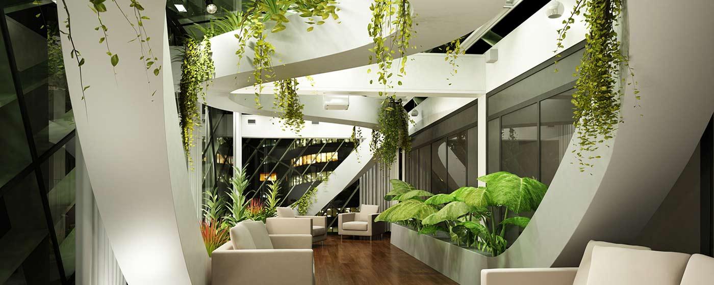 مزیت های وجود گیاهان در فضای داخلی