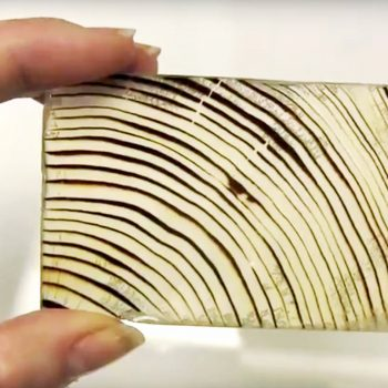 چوب شفاف یا شیشه ای