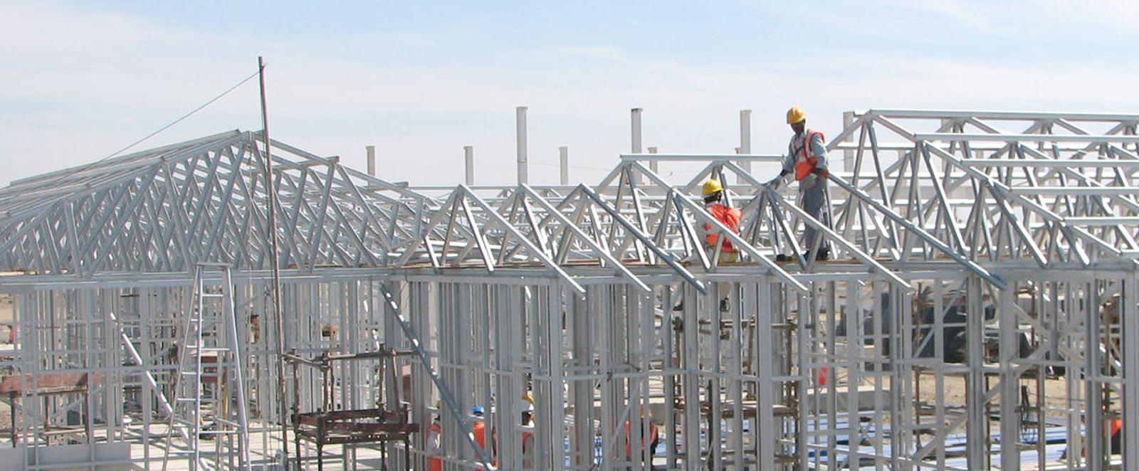 سازه های سبک فولادی