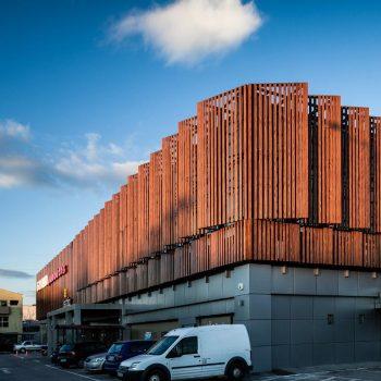 نمای خورشیدی ساختمان