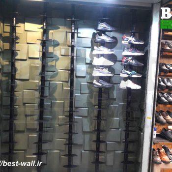 دکور ویترین کفش فروشی