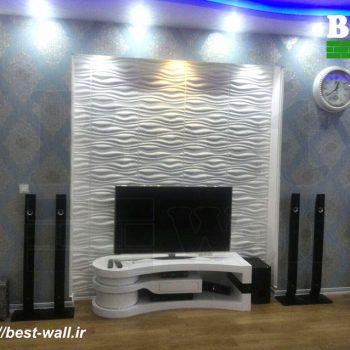 تزئین دیوار تلویزیون