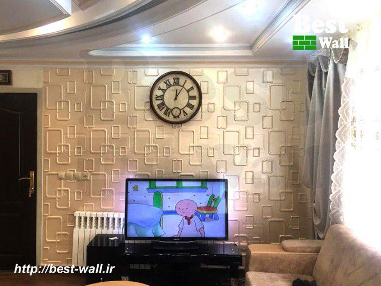 دیوار تلویزیون جدید و زیبا