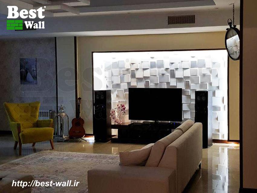 پنل سه بعدی دیوار تلویزیون
