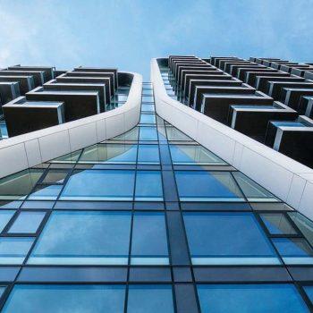 شیشه اسپندرال نمای ساختمان