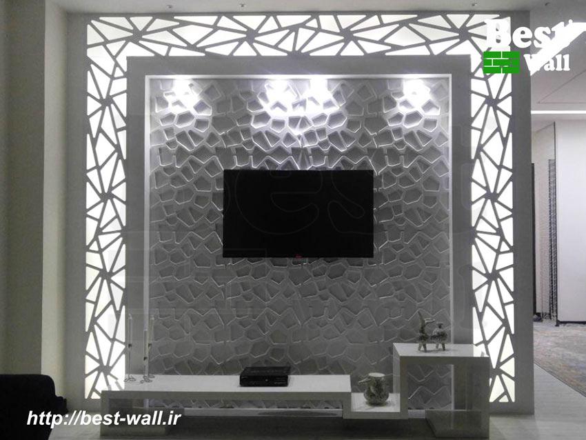 دیوار تلویزیون تی وی روم